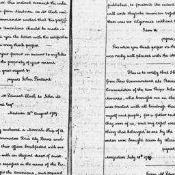 Document, 1789 October 09