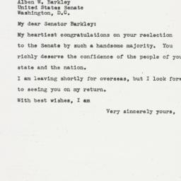 Letter: 1944 November 9