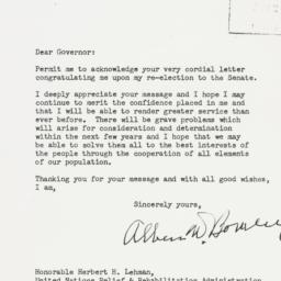 Letter : 1944 November 21