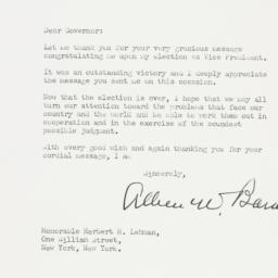 Letter : 1948 November 10