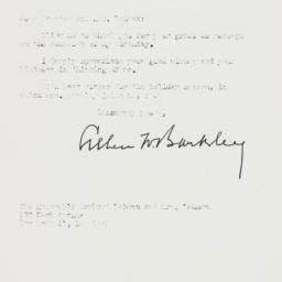 Letter : 1952 December 15