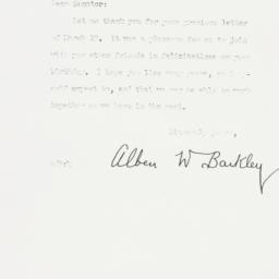 Letter: 1955 March 30