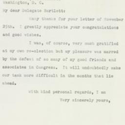 Letter : 1950 December 1