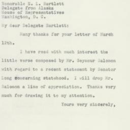 Letter : 1952 March 25