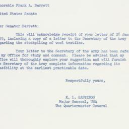 Letter : 1955 February 4