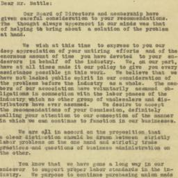 Letter : 1925 August 6