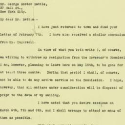 Letter: 1926 February 15