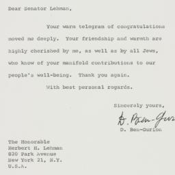 Letter : 1961 October 26