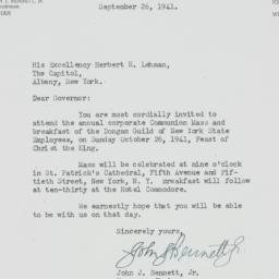 Letter : 1941 September 21