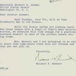 Letter : 1954 June 4