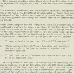 Memorandum : 1953 October 27