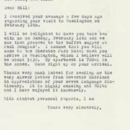Letter: 1956 January 21