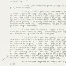 Letter: 1957 April 12