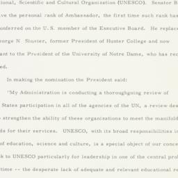 Press Release: 1963 March 9