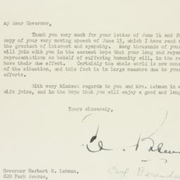 Letter: 1946 June 18
