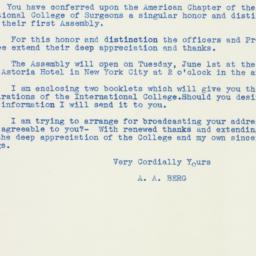 Letter : 1937 May 8