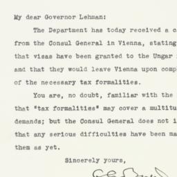 Letter: 1938 June 22