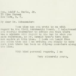 Letter: 1950 December 27