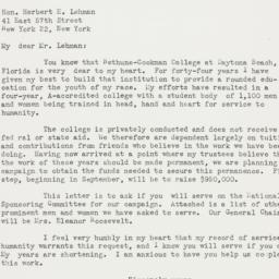 Letter: 1949 June 27