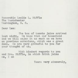 Letter : 1955 February 8