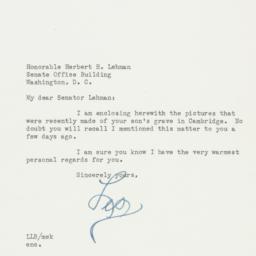 Letter: 1956 August 21
