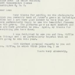Letter: 1956 August 27