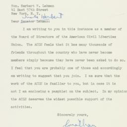 Letter : 1949 December 12