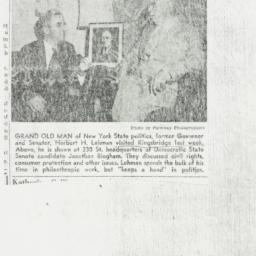 Clipping : 1958 October 30