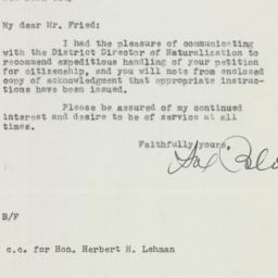 Letter: 1948 July 23