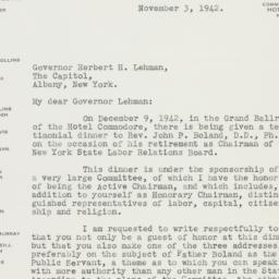 Letter : 1942 November 3