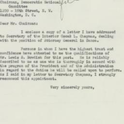 Letter : 1951 July 21