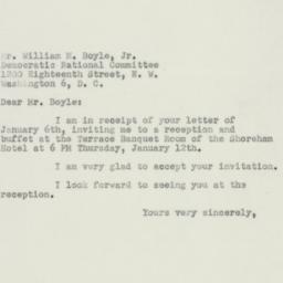 Letter : 1950 January 10
