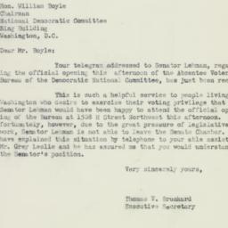 Letter : 1950 September 8