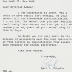 Letter : 1963 February 12