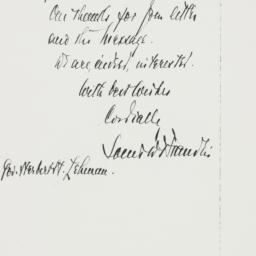 Letter: 1938 January 12