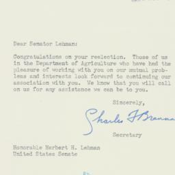 Letter : 1950 November 25