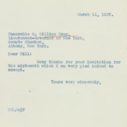 Letter : 1937 March 11