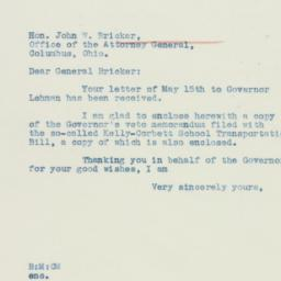 Letter: 1935 May 20