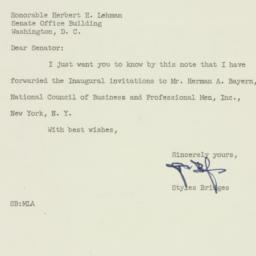 Letter : 1953 February 23
