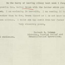 Letter : 1942 December 9