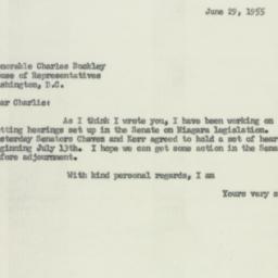 Letter : 1955 June 29