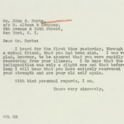Letter : 1941 March 3