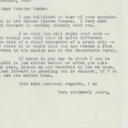 Letter: 1953 October 19