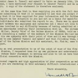 Letter : 1945 February 6