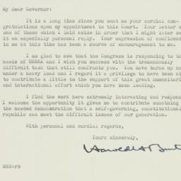 Letter : 1945 December 8
