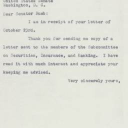 Letter : 1953 November 3