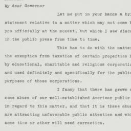 Letter: 1934 February 20