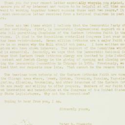 Letter: 1955 February 25