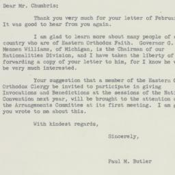 Letter: 1955 March 2