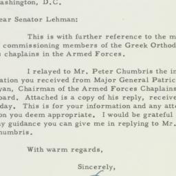 Letter: 1955 April 21